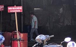 Cháy tại cơ sở kinh doanh xăng dầu ở Sài Gòn, 2 người bị bỏng
