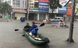 24 giờ Đà Nẵng hỗn loạn trong mưa ngập