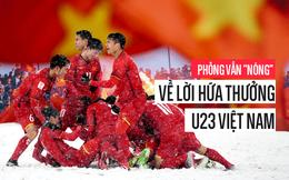 Phỏng vấn ông Mạnh Thường Quân về chuyện hứa thưởng cho U23 Việt Nam