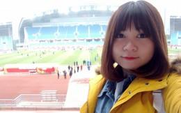 """Đã tìm ra nữ CĐV cuồng nhiệt nhất của U23 Việt Nam khi liên tục gào tên Hồng Duy Pinky: """"Em ơi, bán son cho chị!"""""""