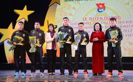 5 cầu thủ U23 Việt Nam được tặng biểu tượng Thánh Gióng