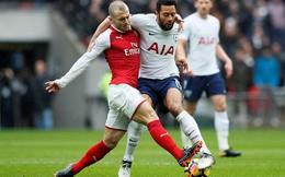 Vòng 27 Premier League: Tottenham 1-0 Arsenal