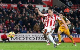 Vòng 27 Premier League: Stoke 1-1 Brighton & Hove Albion