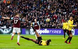 Vòng 27 Premier League: West Ham 2-0 Watford