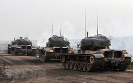 Thổ Nhĩ Kỳ triển khai binh sỹ ở 5 vùng tại miền Bắc Syria