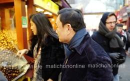 Lộ ảnh bà Yingluck Shinawatra đi mua sắm cùng ông Thaksin ở Trung Quốc