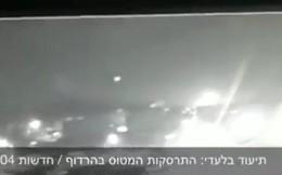 Giây phút tiêm kích F-16 KQ Israel trúng tên lửa Syria rơi xuống đất: Quả cầu lửa khổng lồ