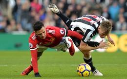 Vòng 27 Premier League: Newcastle 1-0 Man United