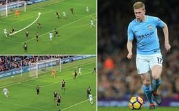 Vượt Messi, De Bruyne là chuyên gia kiến tạo xuất sắc nhất thế giới!