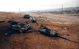 """Leopard 2 - tăng """"bất khả chiến bại"""" đã gục ngã trên chiến trường Syria"""