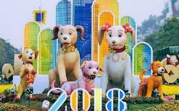 Khai mạc đường hoa Nguyễn Huệ Tết Mậu Tuất 2018