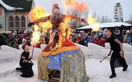 Lễ tiễn mùa Đông Maslenitsa tại Nga
