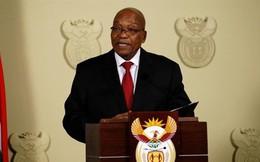 Tổng thống Nam Phi Jacob Zuma chính thức tuyên bố từ chức