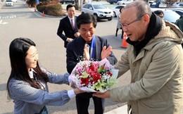 HLV Park Hang-seo được chào đón tại quê hương