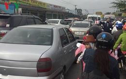 Ùn ứ giao thông mùng 2 Tết Mậu Tuất ở Tiền Giang