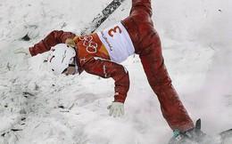 Những pha ngã sấp mặt tại Olympic mùa đông 2018