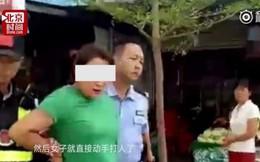 Vô tình hắt nước vào giày của người qua đường, nhân viên bị đánh tới nhập viện