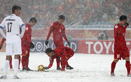 Siêu phẩm 'Cầu vồng tuyết' của Quang Hải đoạt giải Bàn thắng đẹp nhất VCK U23 châu Á 2018