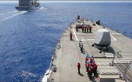 Hải quân Mỹ phô trương lực lượng trên Biển Đen dằn mặt Nga