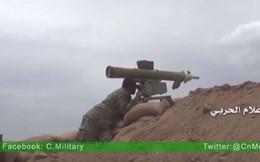 Sập bẫy phục kích, thủ lĩnh phiến quân Syria mất mạng vì tên lửa chống tăng
