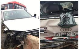 Xe khách đâm liên tiếp vào hai ô tô trên cao tốc, nhiều người hoảng loạn