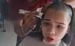 Clip: Cô gái xuống tóc trọc lóc ngày đầu năm để lấy 2 triệu đồng gây tranh cãi