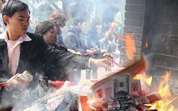 Giáo hội Phật giáo Việt Nam đề nghị loại bỏ mê tin dị đoan, đốt vàng mã tại các chùa