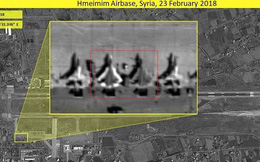 """Được bảo mật chặt chẽ nhưng Su-57 tại Syria không """"trốn"""" được vệ tinh trinh sát NATO"""