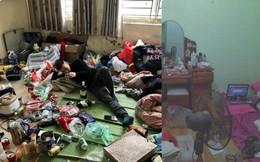"""Những căn phòng lộn xộn, """"ở bẩn"""" đến nỗi khó tìm một chỗ đặt chân tử tế!"""
