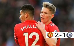 Phát hiện mới của Man United khiến Chelsea phải đau đầu và bất lực