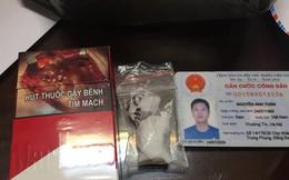 Gặp 141, thanh niên thả ma túy xuống đường phi tang