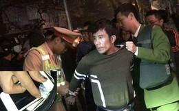 Chạy trốn Công an, đối tượng ma túy tự gây tai nạn trên phố Hòa Mã