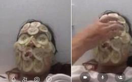 """Khi người yêu gọi video vì nhớ nhưng """"anh ơi, em phải đắp mặt đã!"""""""
