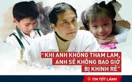 """TIN TỐT LÀNH 28/2: Ảnh """"tự sướng"""" của GS Sơn, lòng tham và bài học từ hai đứa trẻ"""
