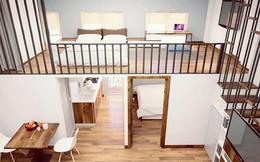 Ngắm 2 căn hộ tuy chỉ 35m² nhưng có 2 phòng ngủ đang khiến nhiều người ao ước