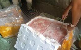 Gần 10 tấn nầm heo thối suýt lên bàn nhậu ở Sài Gòn
