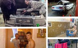15 khoảnh khắc kỳ quặc đến là lạ chỉ có tại nước Nga
