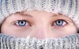 Tại sao mắt không hề lạnh dù trời rét tê tái?