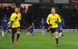 Vòng 26 Premier League: Watford 4-1 Chelsea