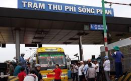 Đề nghị miễn vé cho người dân 17 năm đóng phí BOT Sông Phan