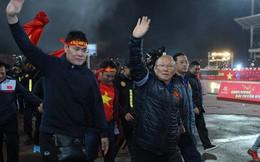 Rời Việt Nam, HLV Park Hang Seo được truyền thông Hàn Quốc săn đón