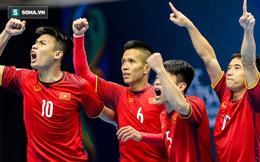 """Futsal Việt Nam thẳng tiến vào bán kết châu Á nhờ """"bí kíp"""" của HLV Park Hang-seo?"""