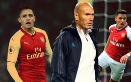 HLV Zidane từ chối mua Alexis Sanchez với giá rẻ mạt
