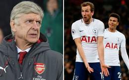 Trước thềm đại chiến derby bắc thành London, Arsene Wenger chỉ trích cầu thủ Tottenham