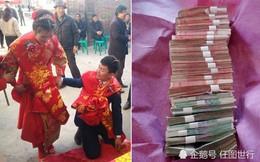 Chú rể khánh kiệt vì tiền cưới hơn 1 tỷ đồng, cô dâu phải dập đầu 200 cái để lấy may
