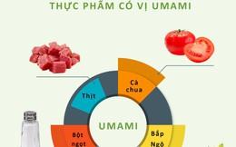 """""""Umami""""- Bí mật từ vị cơ bản thứ 5"""