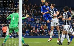 Clip bản quyền Premier League: West Brom 1-4 Leicester