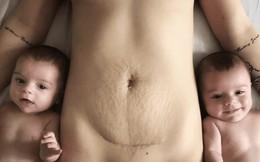 Không phải hình ảnh 2 con trai kháu khỉnh, đây mới là bức ảnh nhận được nhiều like nhất của bà mẹ sinh đôi
