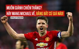 Với Michael Carrick, Sir Alex đưa Man United đi từ thảm họa lên đỉnh cao châu Âu
