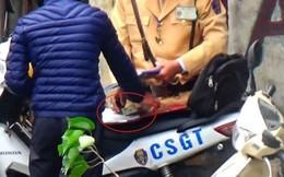 Xác minh clip ghi hình CSGT Hà Nội nghi mãi lộ